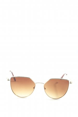 Cox Oval Sunglasses brown casual look