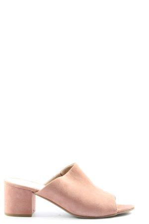 Cox Sandalias de tacón con plataforma rosa look casual