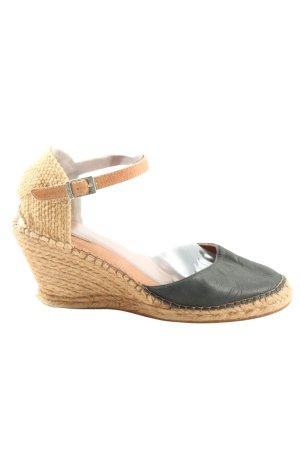 Cox Platform High-Heeled Sandal cream-black casual look