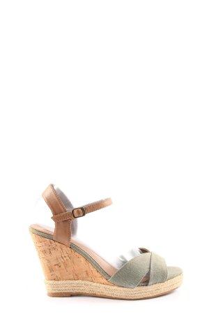 Cox Sandalo alto con plateau multicolore stile casual