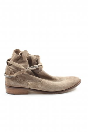 Cox Slip-on Booties brown elegant