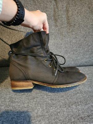 Cox Bottines à lacets noir