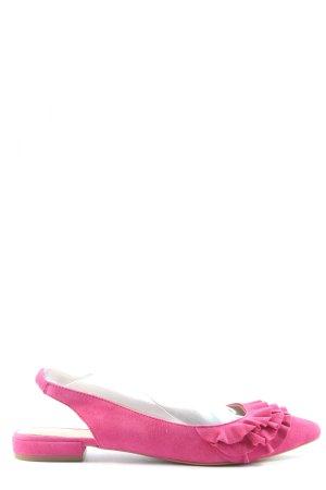 Cox Ballerina aperta sul tallone rosa stile casual