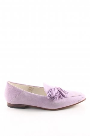 Cox Slippers lilac casual look