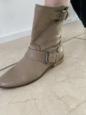 Cox Slip-on Booties beige