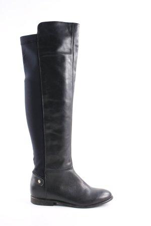 Cox Stivale elasticizzato nero stile casual