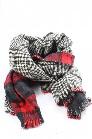 Cox Knitted Scarf allover print casual look