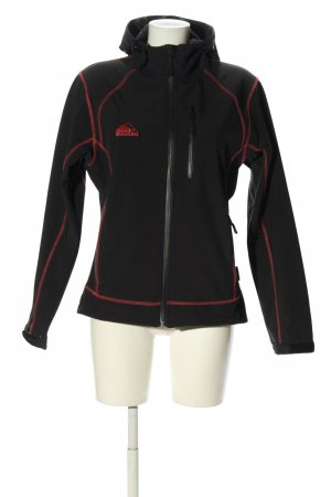 Cox Swain Outdoor Jacket black-red casual look