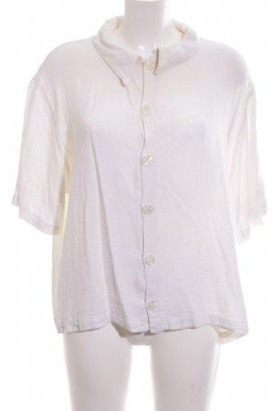 CP SHADES SAUSALITO Short Sleeved Blouse white casual look