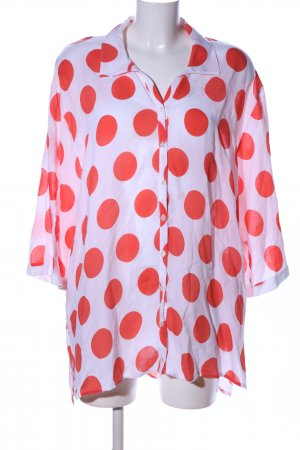 CPM the Collection! Shirt Blouse white-red spot pattern casual look