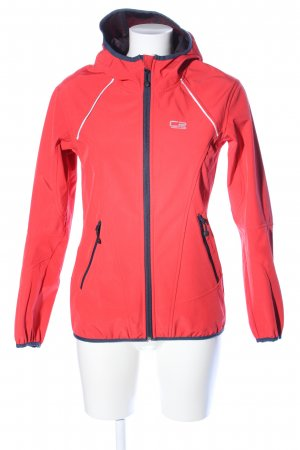 CPS Windbreaker red athletic style