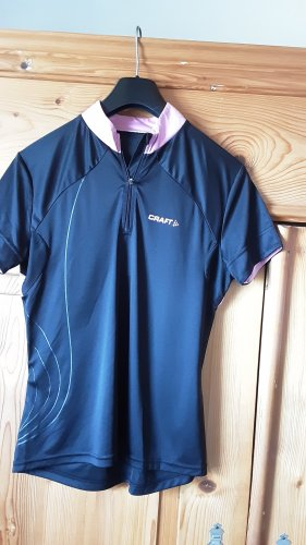 Craft Fahrradshirt, schwarz mit violett, Gr. XL