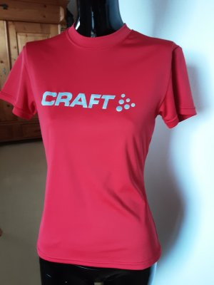 Craft Sports Shirt silver-colored-red