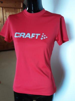 Craft, Sportshirt, rot, Gr.34 bis 36
