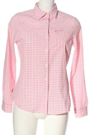 Craghoppers Camicia da boscaiolo rosa-bianco stampa integrale stile casual