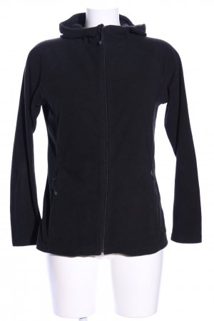 Crane Fleece Jackets black casual look