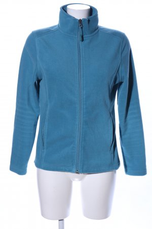 Crane Fleecejacke blau Casual-Look
