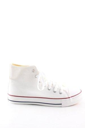 Crane High Top Sneaker weiß Casual-Look