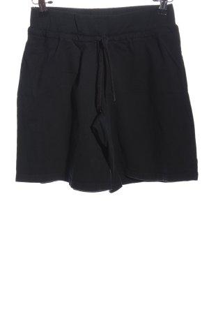 Crane Hot Pants schwarz Casual-Look
