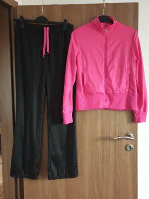 Crane Chaqueta deportiva negro-rosa