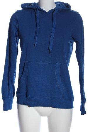 Crane Hooded Sweatshirt blue casual look
