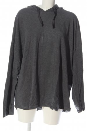 Crane Hooded Sweatshirt light grey flecked casual look