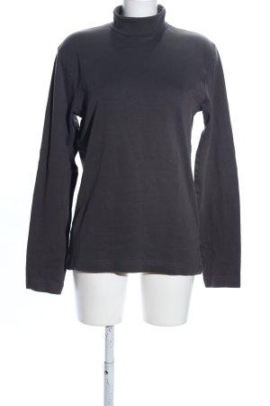 Crane Turtleneck Sweater black business style