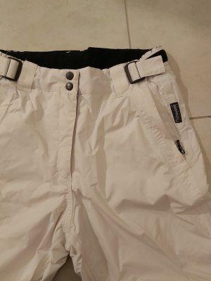 Crane Pantalón de esquí blanco