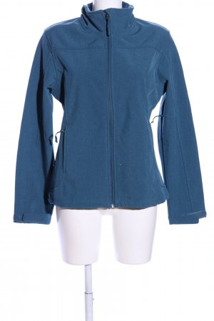 Crane Softshelljacke blau Casual-Look