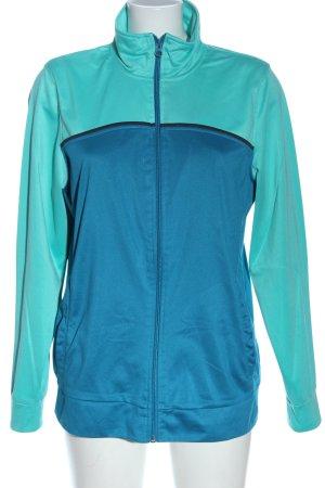 Crane Sports Jacket blue-turquoise elegant