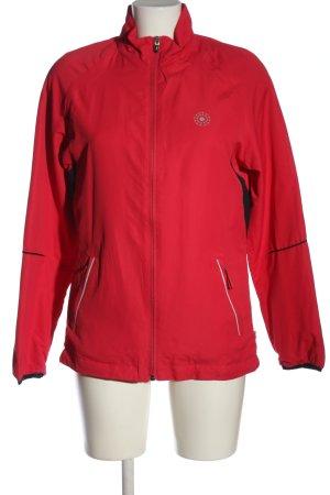 Crane Kurtka sportowa czerwony Wydrukowane logo W stylu casual
