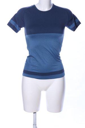 Crane Sportshirt blau Casual-Look