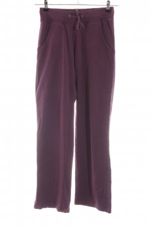 Crane Pantalon de jogging violet style décontracté