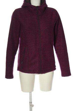 Crane Sweat Jacket pink flecked casual look