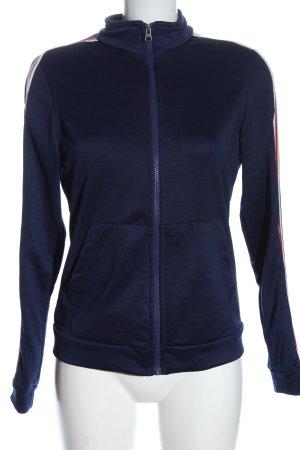 Crane Sweat Jacket blue casual look