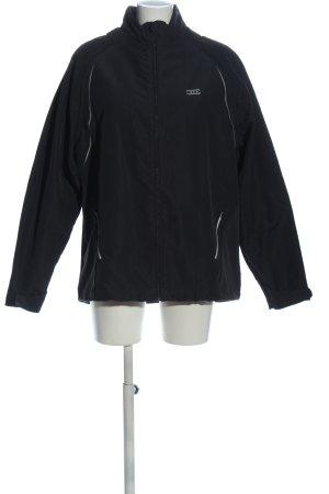 Crane Übergangsjacke schwarz-weiß Casual-Look