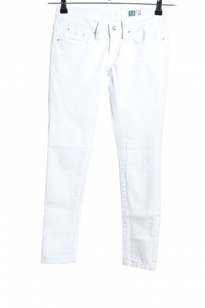 Crazy Age Stretch Jeans white casual look