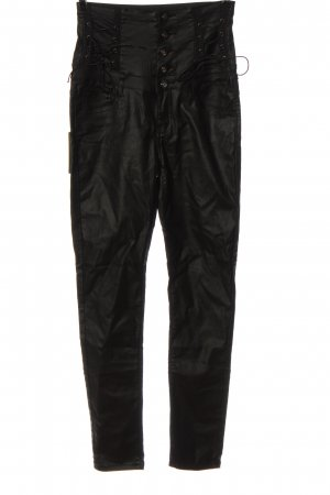 crazy lover High Waist Trousers black casual look