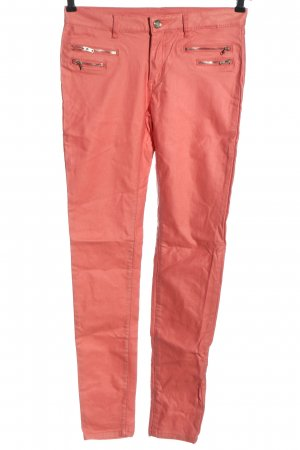 crazy lover Tube Jeans pink casual look