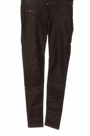 crazy lover Stretch Trousers brown casual look