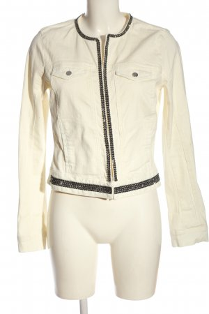 Crazy World Denim Jacket natural white casual look