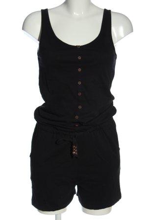 Crazy World Kurzer Jumpsuit black casual look