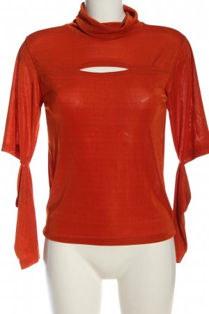 Crazy World T-Shirt red elegant