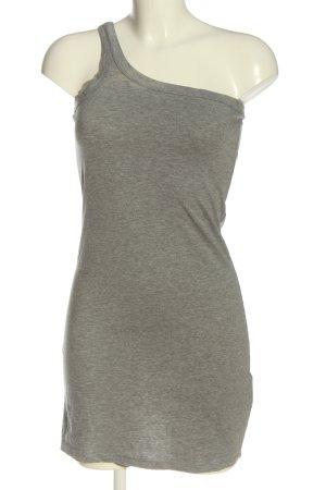Crazy World Mini Dress light grey flecked casual look