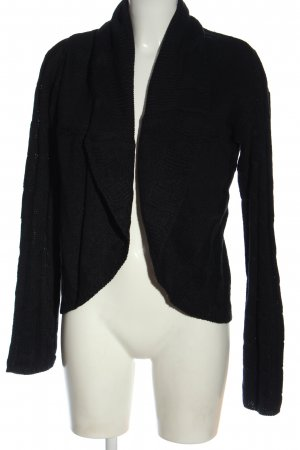 Crazy World Knitted Cardigan black casual look