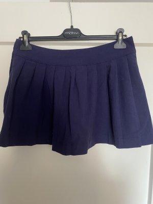 Crazyworld Plaid Skirt dark blue