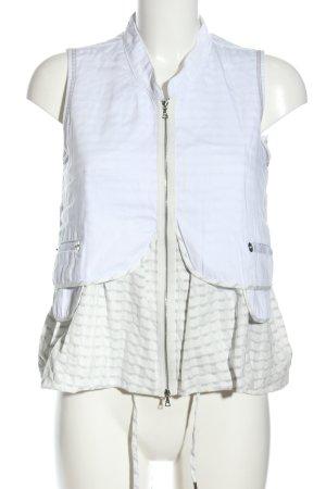 Crea Concept Jeansweste weiß-wollweiß Motivdruck Casual-Look