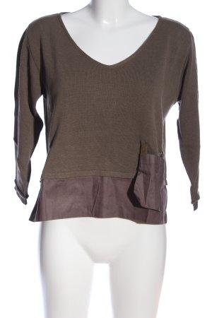Crea Concept V-Ausschnitt-Pullover