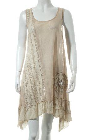 Cream A-Linien Kleid beige Casual-Look