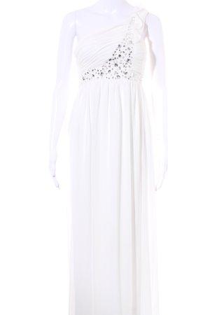 Cream Ballkleid weiß-silberfarben Elegant
